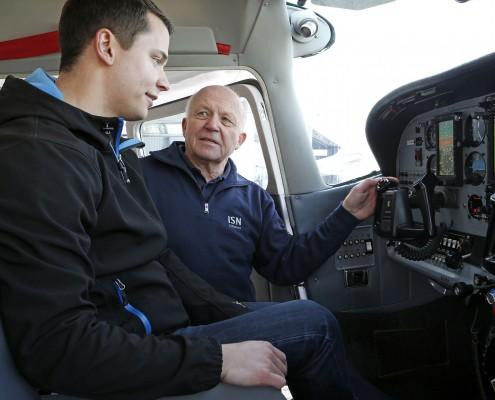 PPL Ausbildung in der Cessna der Flugschule Baden