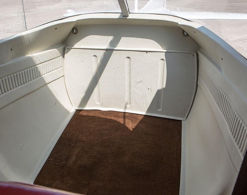 Laderaum der Cessna 150